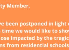 Canada Day Activities have been postponed