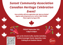 Canadian Heritage Event-Sep 3