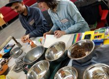 Artist in Communities Residency at Sunset Community Centre