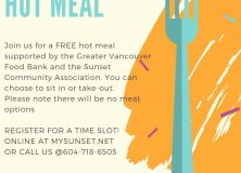 Community Hot Meal-Oct 15