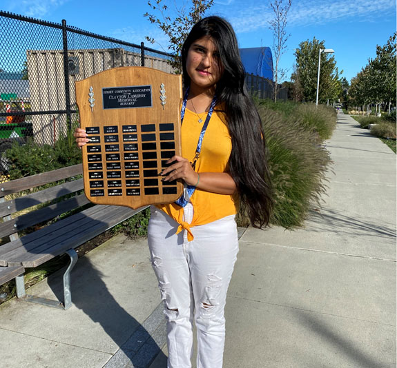 Congratulations to Payal Saldi! Recipient of the Clayton Cameron Memorial Bursary 2021. Payal attended John Oliver School, she is currently enrolled at Kwantlen Polytechnic University and pursuing her career in Business. We would like to thank Payal for her service and dedication to Sunset Community Centre. We would also like to wish her all the best in her future Studies!