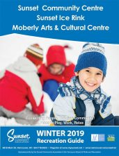 Sunset Community Centre Winter 2019 Recreation Guide
