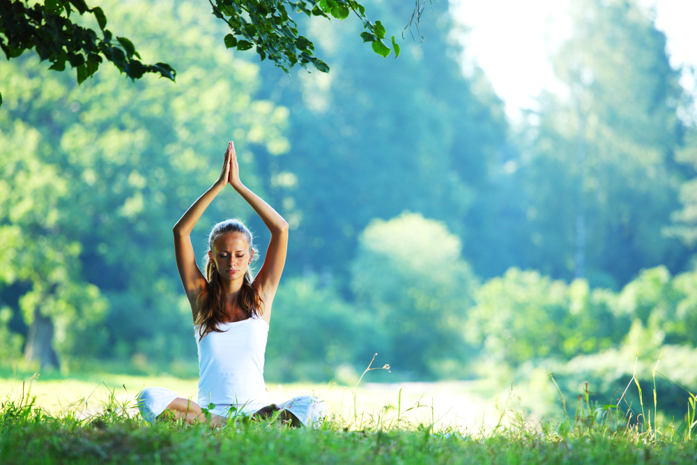 yoga in the park with kristiina